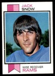 1973 Topps #416  Jack Snow  Front Thumbnail