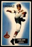 1955 Bowman #5  Lindon Crow  Front Thumbnail