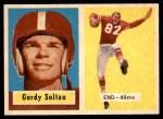 1957 Topps #54  Gordon Soltau  Front Thumbnail