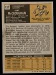 1971 Topps #137  Kent McCloughan  Back Thumbnail