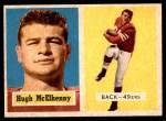 1957 Topps #95  Hugh McElhenny  Front Thumbnail