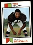 1973 Topps #62  Vern Holland  Front Thumbnail