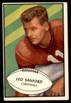 1953 Bowman #39  Leo Sanford  Front Thumbnail