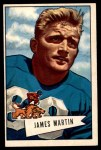 1952 Bowman Large #52  Jim Martin  Front Thumbnail
