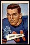 1952 Bowman Large #19  George Connor  Front Thumbnail