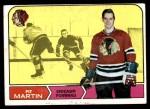 1968 Topps #18  Pit Martin  Front Thumbnail