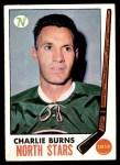 1969 Topps #129  Charlie Burns  Front Thumbnail