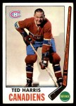 1969 Topps #2  Ted Harris  Front Thumbnail