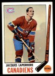 1969 Topps #3  Jacques Laperriere  Front Thumbnail