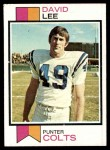 1973 Topps #404  David Lee  Front Thumbnail