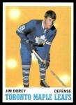 1970 Topps #106  Jim Dorey  Front Thumbnail