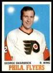 1970 Topps #82  George Swarbrick  Front Thumbnail