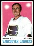 1970 Topps #115  Darryl Sly  Front Thumbnail