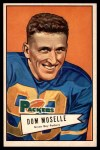 1952 Bowman Large #130  Dom Moselle  Front Thumbnail