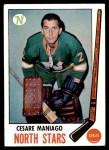 1969 Topps #121  Cesare Maniago  Front Thumbnail