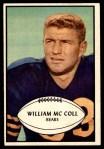 1953 Bowman #12  Bill McColl  Front Thumbnail