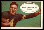 1953 Bowman #76  Lynn Chandnois  Front Thumbnail