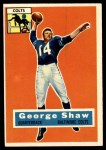 1956 Topps #108  George Shaw  Front Thumbnail
