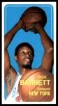 1970 Topps #43  Dick Barnett   Front Thumbnail