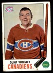 1969 Topps #1  Gump Worsley  Front Thumbnail