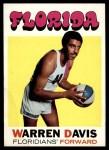 1971 Topps #219  Warren Davis  Front Thumbnail