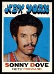 1971 Topps #209  Sonny Dove  Front Thumbnail