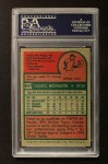 1975 Topps #647  Claudell Washington  Back Thumbnail