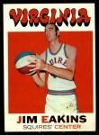 1971 Topps #197  Jim Eakins  Front Thumbnail