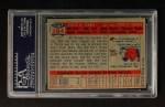 1957 Topps #284  Don Zimmer  Back Thumbnail