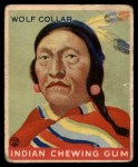 1933 Goudey Indian Gum #93   Wolf Collar  Front Thumbnail