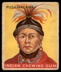 1933 Goudey Indian Gum #97   Push-Ma-Ta-Ha  Front Thumbnail