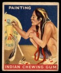 1933 Goudey Indian Gum #151   Painting  Front Thumbnail