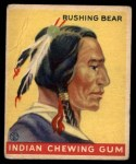 1933 Goudey Indian Gum #157  Rushing Bear   Front Thumbnail