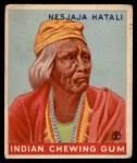 1933 Goudey Indian Gum #199  Nesjaja Hatali   Front Thumbnail