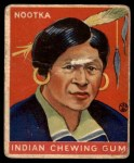 1933 Goudey Indian Gum #104   Nootka  Front Thumbnail