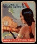 1933 Goudey Indian Gum #164   Trailing Prairie Schooner  Front Thumbnail