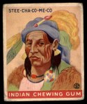 1933 Goudey Indian Gum #204  Stee-Cha-Co-Me-Co   Front Thumbnail
