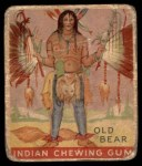 1933 Goudey Indian Gum #99  Old Bear   Front Thumbnail