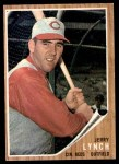 1962 Topps #487  Jerry Lynch  Front Thumbnail