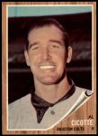 1962 Topps #126 GRN Al Cicotte  Front Thumbnail