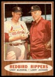 1962 Topps #306   -  Lindy McDaniel / Larry Jackson Redbird Rippers Front Thumbnail