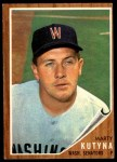1962 Topps #566  Marty Kutyna  Front Thumbnail