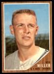1962 Topps #293  Bob Miller  Front Thumbnail