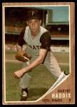 1962 Topps #67  Harvey Haddix  Front Thumbnail