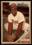 1962 Topps #77  Tony Taylor  Front Thumbnail