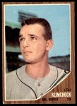 1962 Topps #259  Lou Klimchock  Front Thumbnail