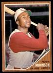 1962 Topps #350  Frank Robinson  Front Thumbnail