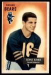 1955 Bowman #62  George Blanda  Front Thumbnail