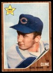 1962 Topps #362  Ty Cline  Front Thumbnail