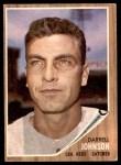 1962 Topps #16  Darrell Johnson  Front Thumbnail